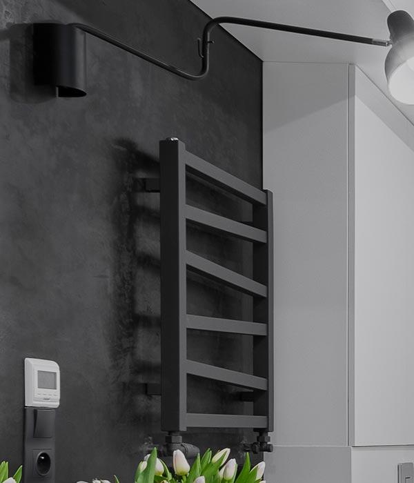 Badkamerradiatoren installatie in Middenbeemster